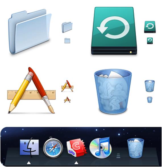 50款非常棒的苹果Mac图标