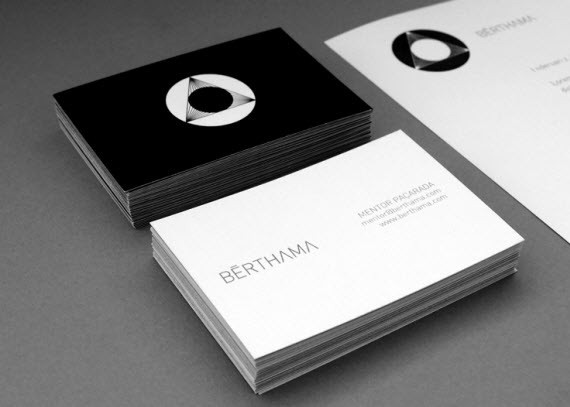 BËRTHAMA-minimal-business-cards