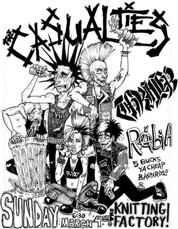 Casualties Flyer