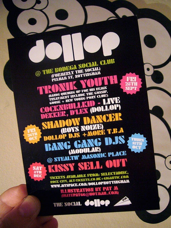 Dollop Flyer