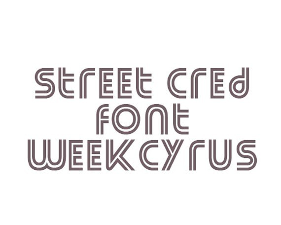 Font Street cred-new-fresh-fonts