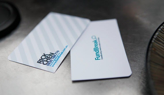 Fundbreak-minimal-business-cards