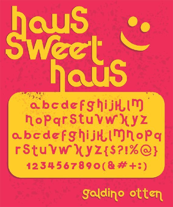 Haus Sweet Haus-new-fresh-fonts