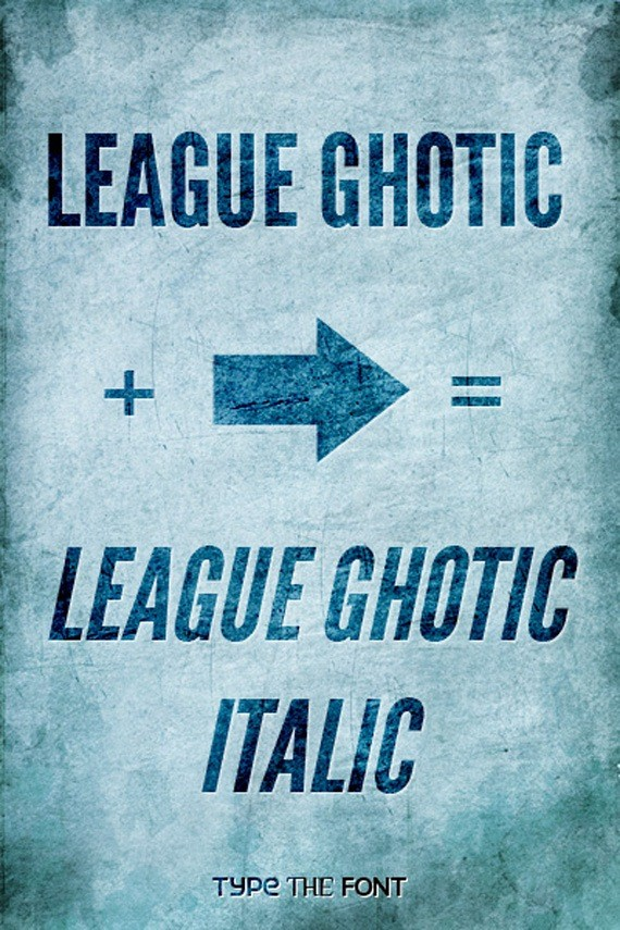 "League Ghotic Extended ""Italic""-new-fresh-fonts"