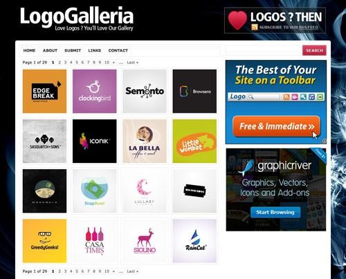 Logo Gallery Inspiration Logo Galleria 20100921 23 Páginas web para inspirarnos con logos