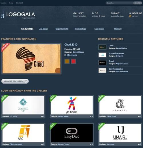 Logo Inspiration LogoGala 20100921 23 Páginas web para inspirarnos con logos