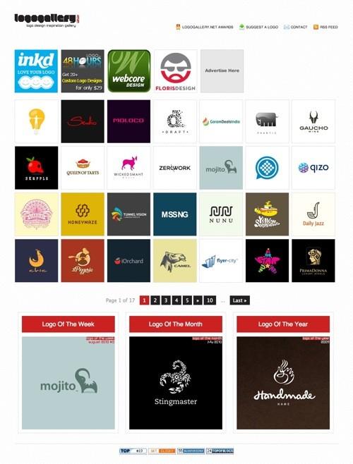Logogallery.net Logo Inspiration Gallery 20100921 23 Páginas web para inspirarnos con logos