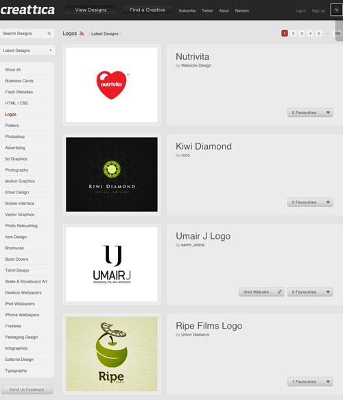 Logos Creattica 20100921 23 Páginas web para inspirarnos con logos