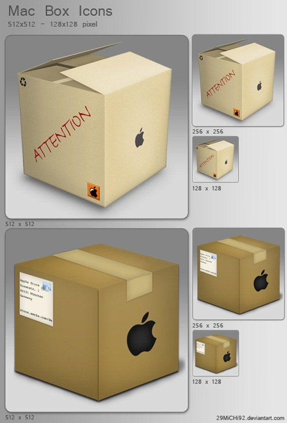 Mac Box Icons