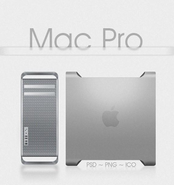 Mac Pro Psd   Png   Ico