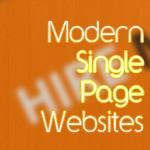 Modern Single Page Websites