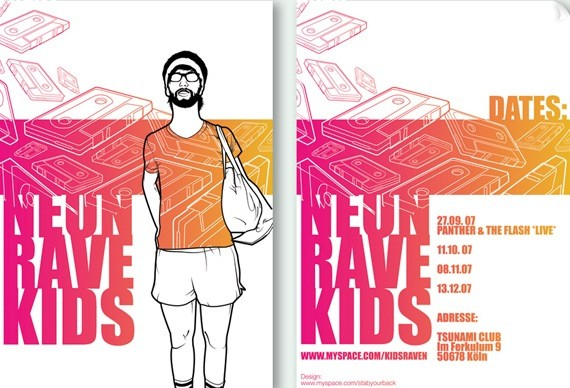 Neon Rave Kids flyer