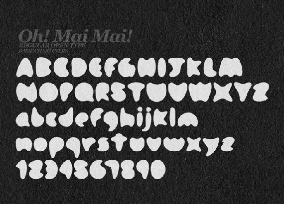 Oh! Mai Mai!-new-fresh-fonts