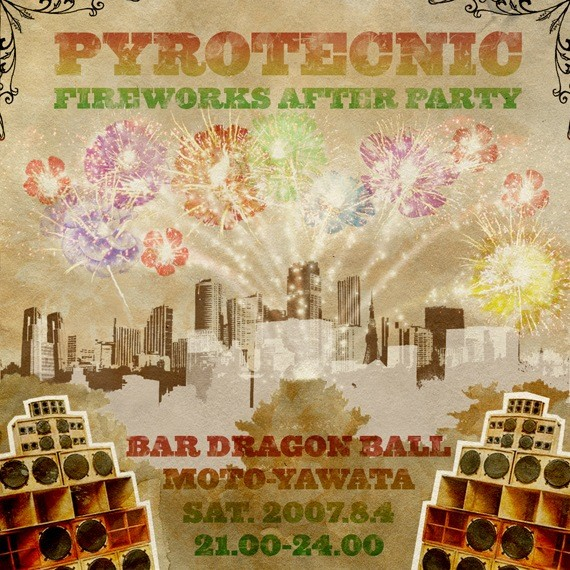 Pyrotecnic Flyer