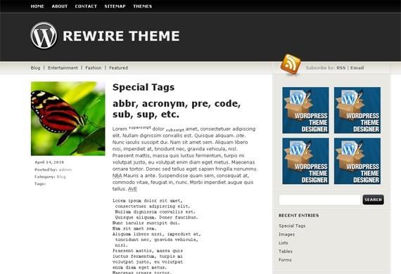 Rewire Theme