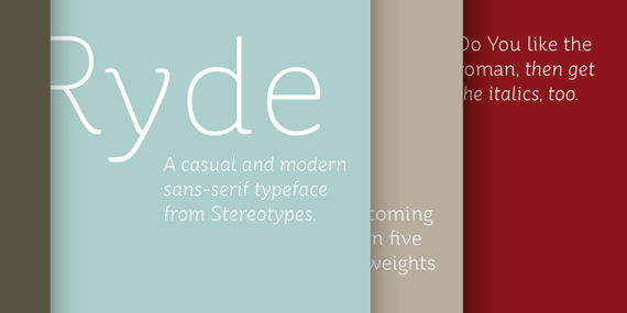 St Ryde-new-fresh-fonts