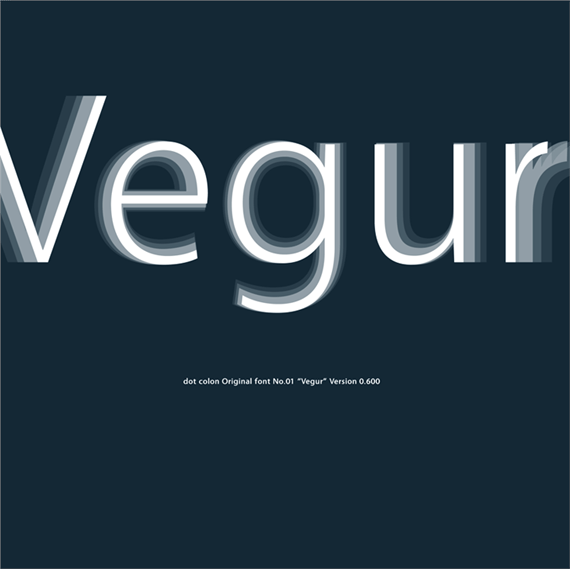 Vegur-new-fresh-fonts