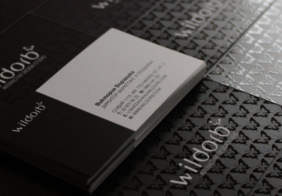 creative minimal business card design inspiration Wildorb-minimal-business-cards