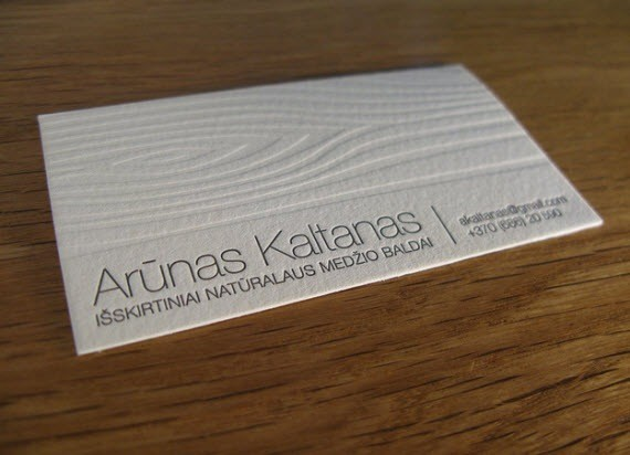 arunas-minimal-business-cards