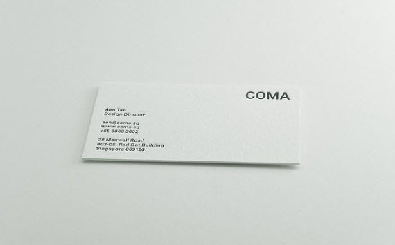 coma-minimal-business-cards