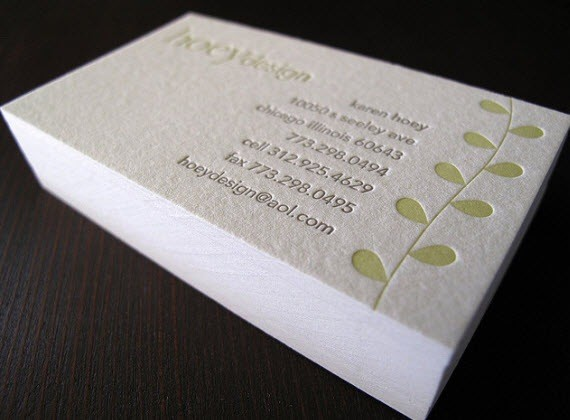 hoey-design-minimal-business-cards