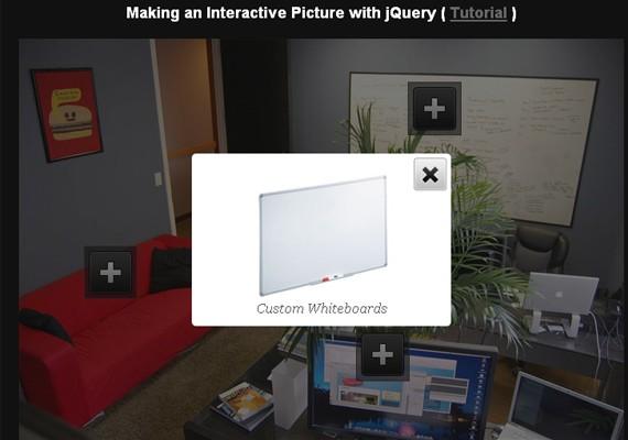 interactive picture 20+ Efectos de jQuery brillantes
