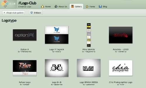 logoclub 23 Páginas web para inspirarnos con logos