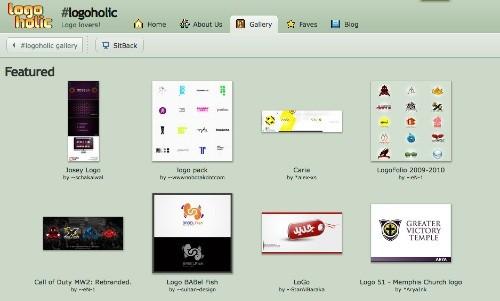 logoholic 23 Páginas web para inspirarnos con logos