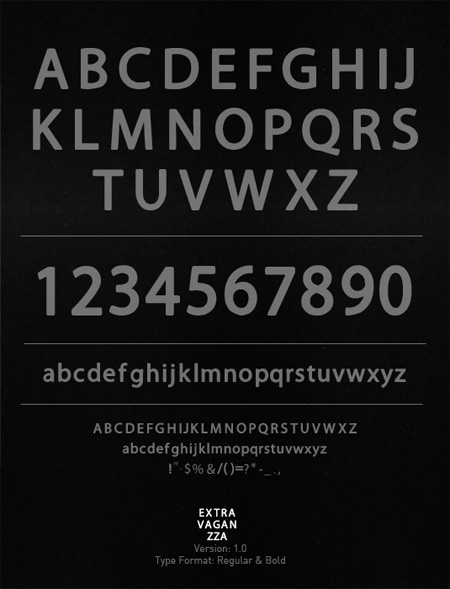 Extravaganzza-free-fonts-minimal-web-design