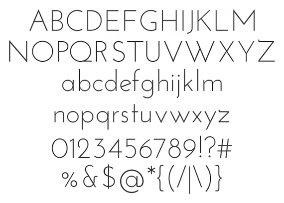 Josefin-sans-free-fonts-minimal-web-design