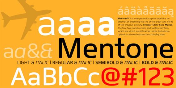 Mentone-free-fonts-minimal-web-design