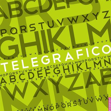 Telegrafico-free-fonts-minimal-web-design