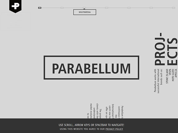 parabellum-single-page-website