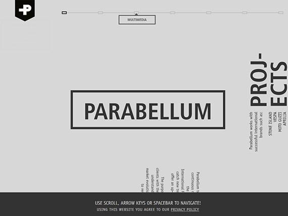 parabellum-single-page-website