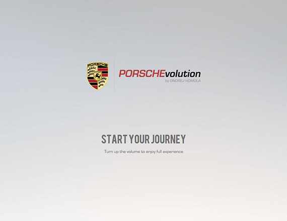 porschevolution-single-page-website