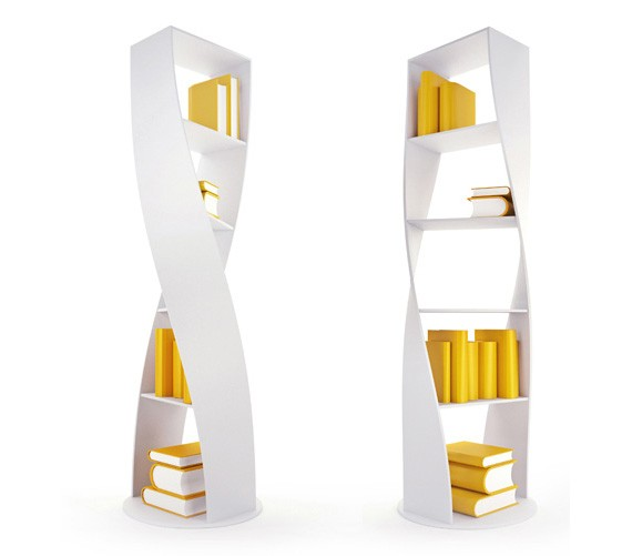 MYDNA Twist Bookcase