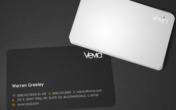 creative minimal business card design inspiration vevia-minimal-business-cards