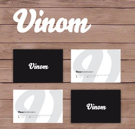 creative minimal business card design inspiration vinam-minimal-business-cards