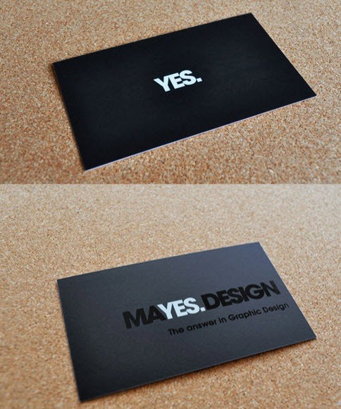 yes-minimal-business-cards