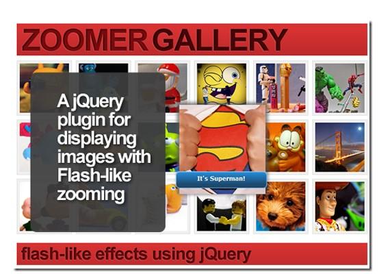 zoomer gallery 20+ Efectos de jQuery brillantes