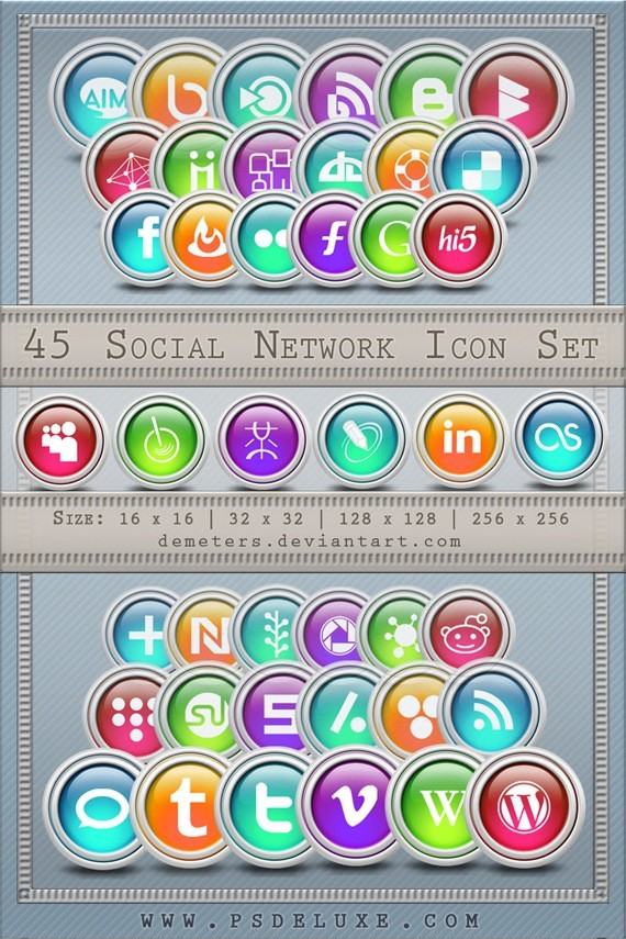 Ultimate Social Network Icons