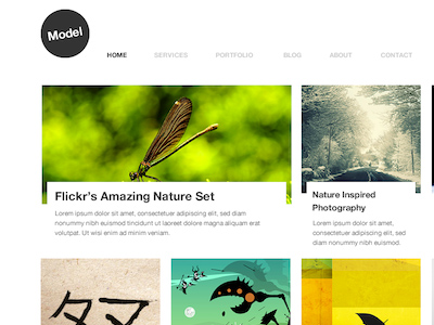 Model-blog-page-incredible-artworks-dribbble-make-wow