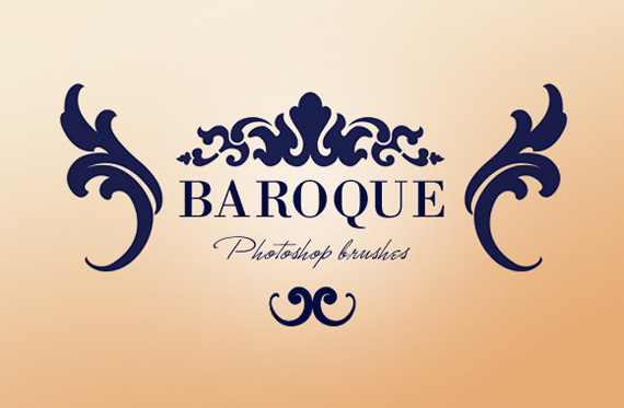 Baroque-ornaments-modern-design-trends-free-brushes