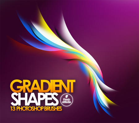 Gradient-shapes-modern-design-trends-free-brushes