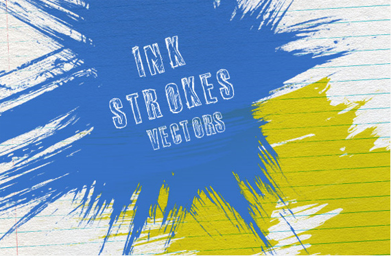 Ink-strokes-vectors-modern-design-trends-free-brushes