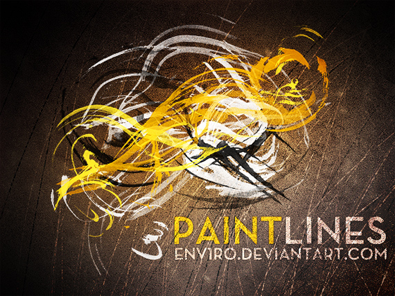 Paint-lines-modern-design-trends-free-brushes