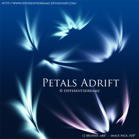 Petals-adrift-modern-design-trends-free-brushes