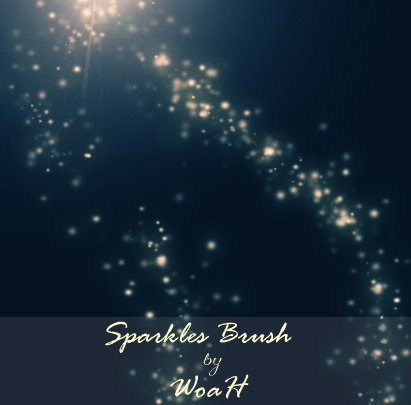 Sparkles-modern-design-trends-free-brushes