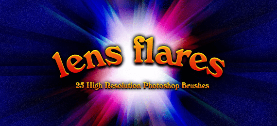 450+ Cool Photoshop Lens Flare and Glow Brushes