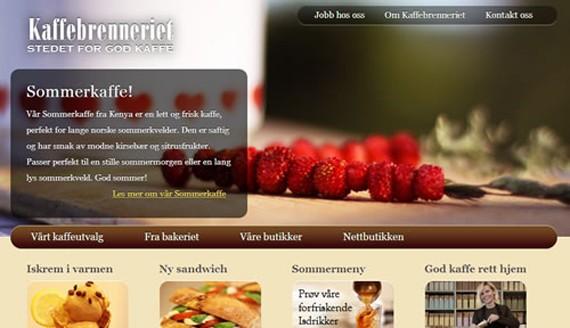 Kaffebrenneriet coffee website 30 Sitios web sobre café para inspirarte